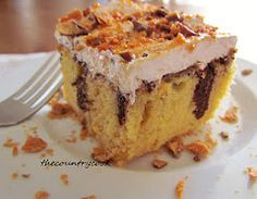 butterfinger cake! I had this once and am sooo excited I found the recipe!!!