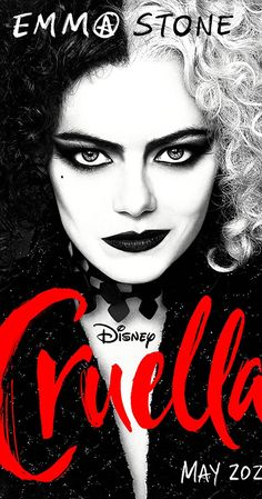 Directed by Craig Gillespie. With Emma Stone, Emma Thompson, Mark Strong, Paul Walter Hauser. A live-action prequel feature film following a young Cruella de Vil. Emma Stone, Disney Films, Disney Villains, Live Action, New Movies, Movies And Tv Shows, Dragon Movies, Mark Strong, Disney Logo