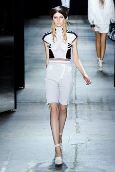Alexander Wang Spring 2012 Ready-to-Wear Collection Slideshow on Style.com