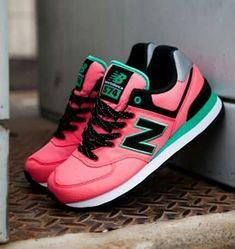 uk availability dd1b1 84334 Imagen de new balance, pink, and shoes Tenis New Balance, New Balance  Sneakers