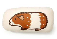 Guinea Pig Pillow, theme the babies room in piggies!