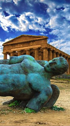 Temple of Concord, Agrigento, Sicily, Italy — Going here this weekend, yay! Places In Italy, Oh The Places You'll Go, Places To Travel, Places To Visit, Italy Vacation, Italy Travel, Travel Around The World, Around The Worlds, Voyage Rome