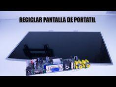 (2) COMO RECICLAR UNA PANTALLA DE PORTATIL - YouTube