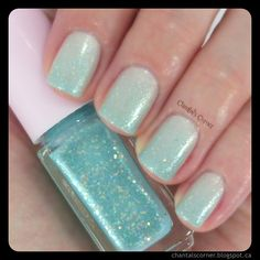 My Mint Mani for Talia Joy ~ Chantal's Corner