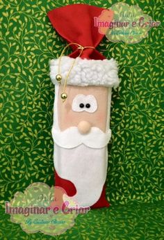 Saquinho porta bis de Natal