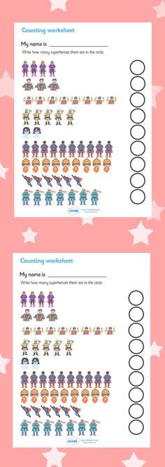 Twinkl Resources >>My Counting Worksheet (Superheroes) >> Thousands of printable primary teaching resources for EYFS, KS1, KS2 and beyond! counting worksheet, superhero, counting, activity, how many, foundation numeracy, counting on, counting back, superhero, superheroes, hero, batman, superman, spiderman, special, power, powers, catwoman, liono,