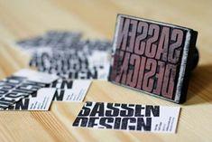23 Inspiradores Cartões de Visita Artesanais | Criatives | Blog Design, Inspirações, Tutoriais, Web Design