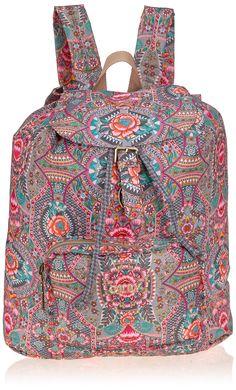 Oilily FP Folding Backpack, Sacs à dos femme - Gris - Grau (Iron 907), 34x42x16 cm (B x H x T) EU