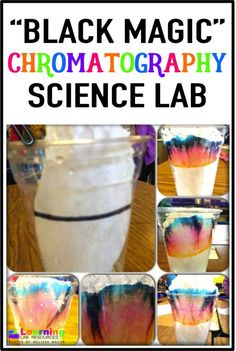 "The ""Black Magic"" science lab helps teach students about chromatography.  Download the FREE lab sheet!"