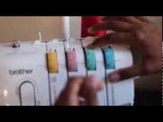 Brother 1034D Overlocker/Serger Setup Tutorial - Sew Darn Neat | Sewing Blog