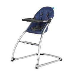 BabyHome Eat High Chair - Navy Babyhome  collapsable