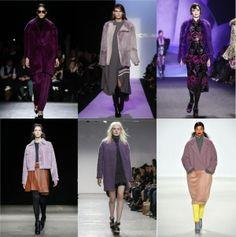 Fall 2014 Trend Forecast: Purple Coats – Style Context #NYFW