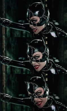 "Catwoman ""I'm Catwomen, hear me roar. Catwoman Comic, Catwoman Cosplay, Batman And Catwoman, Batman Robin, Keaton Batman, Batman Returns 1992, Tracer Cosplay, Catwoman Selina Kyle, Divas"