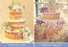 5 ideias de naked cake - Constance Zahn | Casamentos