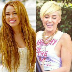 Miley Cyrus is a perfect role for Alice. They have one thing in common. Alice was trying to find her identity, as well as Miley Cyrus. She made a big difference in her looks and personality.