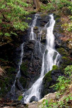 Cataract Falls, Great Smoky Mountain National Park This is where Don and I got married in 2003