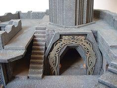 Dwarf mine -deep entrance by clevella on DeviantArt
