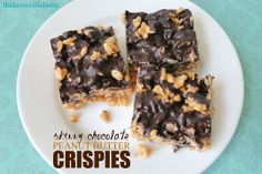 The Knoxville Holts: {skinny} chocolate peanut butter crispies {gf,v}