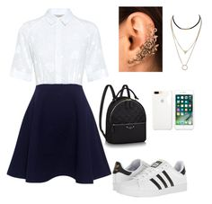 """Church"" by demmygeor on Polyvore featuring Paul & Joe Sister and adidas"