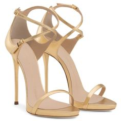 Darcie - Sandals - Gold   Giuseppe Zanotti ®