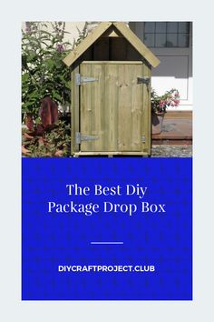 Some collection of ideas about The Best Diy Package Drop Box. Get this Fantastic and Save this article now!