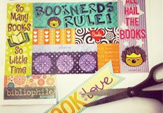 These free printable bookmarks are 100% Snarkles approved and perfect for summer reading.
