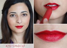 Revlon Colorburst Matte Balms in Standout Standout is a berry red; its the mo – Care – Skin care , beauty ideas and skin care tips Revlon Colorburst Matte Balm, Revlon Matte, Revlon Lipstick, Mac Russian Red, Indian Skin Tone, Beauty Hacks, Beauty Ideas, Beauty Tips, Makeup Lips