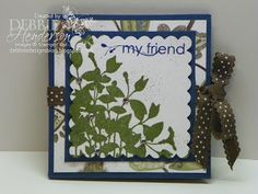 "Debbie's Designs: The ""Amazing Fold"" Card! Very Cool!"