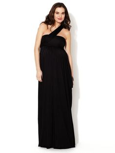 The Wrap Column Dress by Isabella Oliver at Gilt