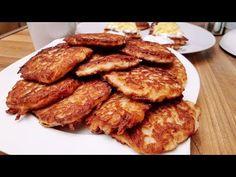 Lapcsánka, tócsni, lepcsánka, beré, medve, röszti burgonya / Szoky konyhája / - YouTube Vegetarian Recipes, Cooking Recipes, Beverages, Drinks, French Toast, Bacon, Breakfast, Dinner Ideas, Foods