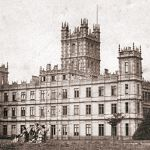 Highclere Castle circa 1857 aka Downton Abbey | www.myLusciousLife.com