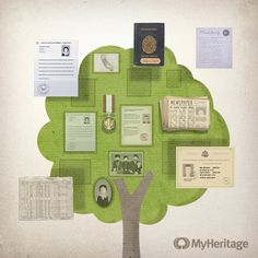 MyHeritage - New Feature: Save records to your family tree #hackgenealogy