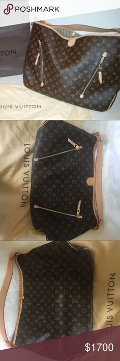 Delightful MG Monogram print MG LV bag comes with dust bag. 2 outside zipper pockets Louis Vuitton Bags Totes