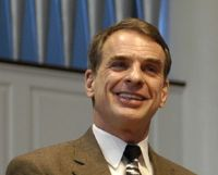 William Lane Craig: check out his podcast called Reasonable Faith