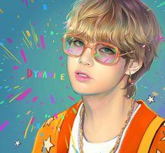 Bts Taehyung, Taehyung Fanart, Foto Bts, Bts Photo, Kpop Drawings, Twitter Bts, Bts Aesthetic Pictures, Bts Chibi, Bts Fans