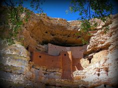 Montezuma Castle - near Mesa, AZ.  It's so beautiful to see how the American Indians lived in harmony with nature.