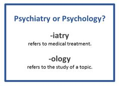 Are you one of the many people who use the words #psychiatrist and #psychologist interchangeably? There are certainly similarities between these two professions—both are trained to help people with #mentalhealth problems. But there are also important differences. #psychiatry #psychology