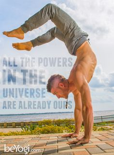 The powers of the universe are already ours | beYogi #lululemon
