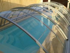 Here are clear differences between polycarbonate swimming pool enclosure and pool fence. Discover reasons why you need polycarbonate swimming pool enclosure Swimming Pool Enclosures, Swimming Pools, Vs Swim, Pool Fence, Cool Pools, Swiming Pool, Pools, Pool Enclosures