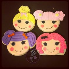 Lalaloopsy Sugar Cookies!