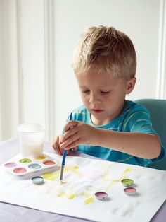 Home-made watercolour paints. Copyright © Ryland Peters & Small Ltd