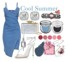 Cool Summer by prettyyourworld on Polyvore featuring Oscar de la Renta, Sophie Hulme, Frederic Sage, Monica Rich Kosann, 1928, Kjaer Weis, Bobbi Brown Cosmetics, Clé de Peau Beauté, Urban Decay and Maybelline