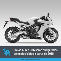 Você sabia que assim como os carros, as motos também serão obrigadas a sair de fábrica com freios ABS ou CBS? Acesse nossa matéria e entenda a nova exigência do Contran: https://www.consorciodemotos.com.br/noticias/freios-abs-ou-cbs-serao-obrigatorios-em-motocicletas?idcampanha=288&utm_source=Pinterest&utm_medium=Perfil&utm_campaign=redessociais