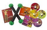Zumba Fitness DVD Exercise Kit includes toning sticks: fitness videos for beginners
