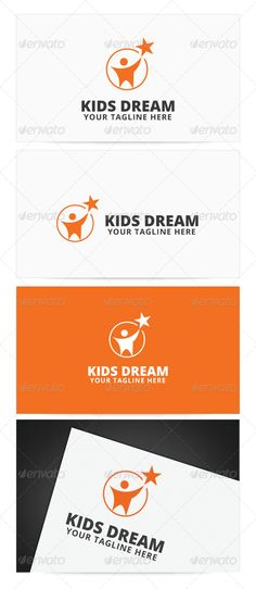 Kids Dream	 Logo Design Template Vector #logotype Download it here: http://graphicriver.net/item/kids-dream-logo/8496130?s_rank=368?ref=nesto