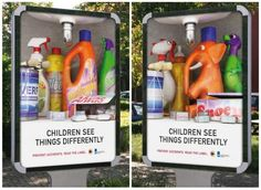 Children see things differently, pesticides ad