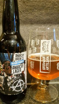 Anarchy Brew Co Anarchy Lager. Watch the video beer review here www.youtube.com/realaleguide
