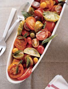 heirloom tomato salad  on domino.com