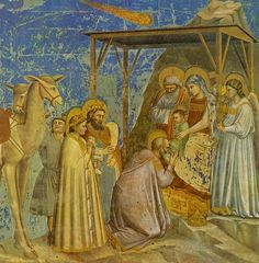 Giotto (Ambrogio Bondone) (Italian artist, 1267-1337) Adoration of the Magi Arena Chapel