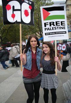 :::: PINTEREST.COM christiancross :::: Go for Free Palestine +++